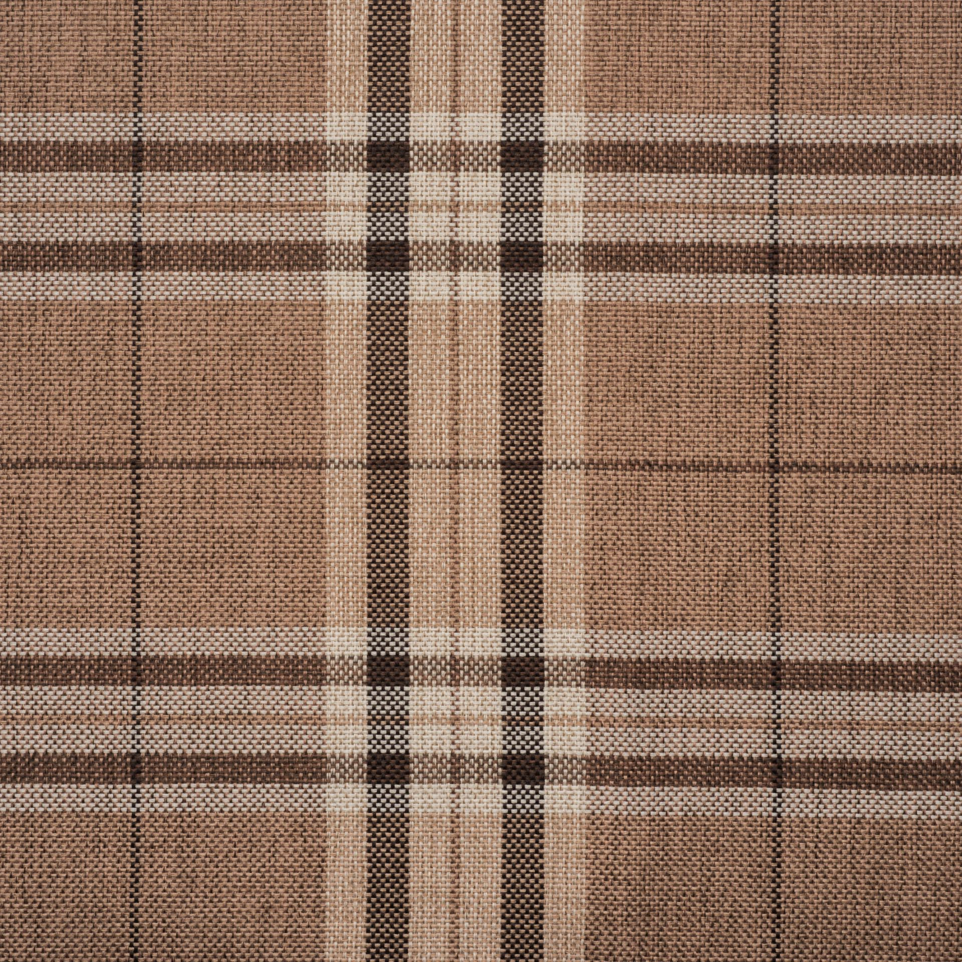 Коллекция ткани Шотландия комбин BROWN,  купить ткань Рогожка для мебели Украина