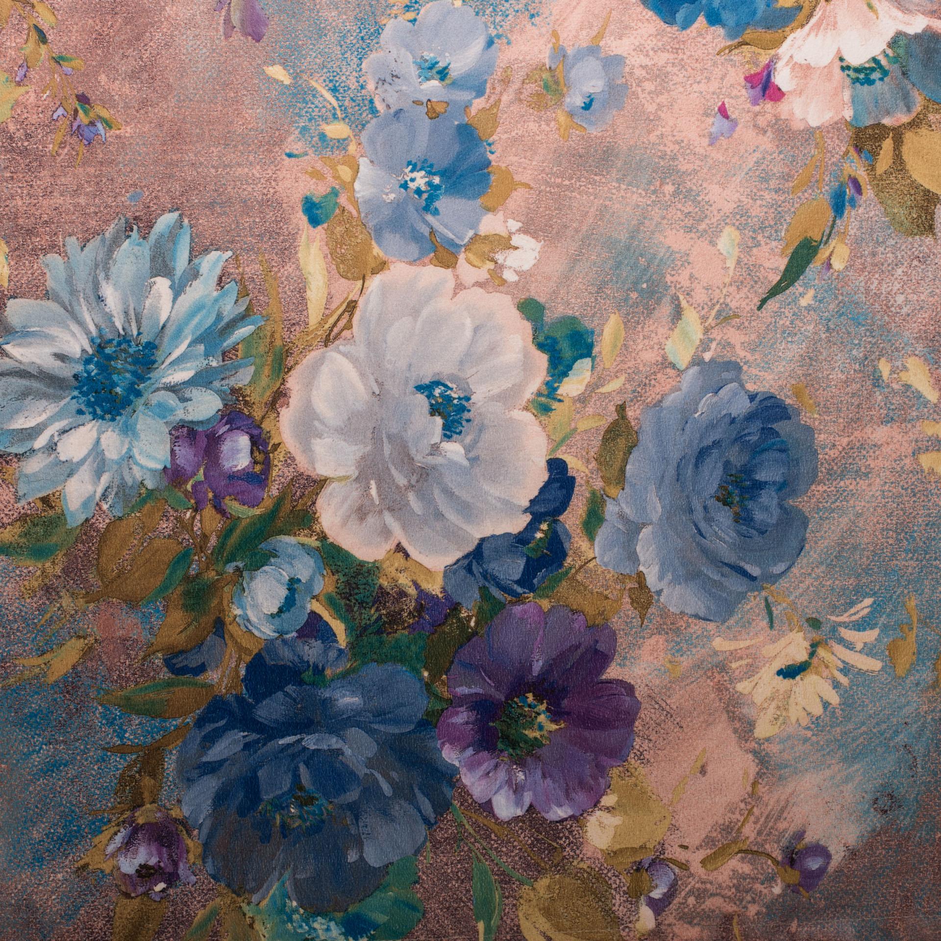 Коллекция ткани Вера Blue 03,  купить ткань Жаккард для мебели Украина